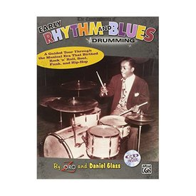 Alfred Publishing The Commandments Of Early Rhythm and Blues Drumming by Zoro and Daniel Glass; Book & CD