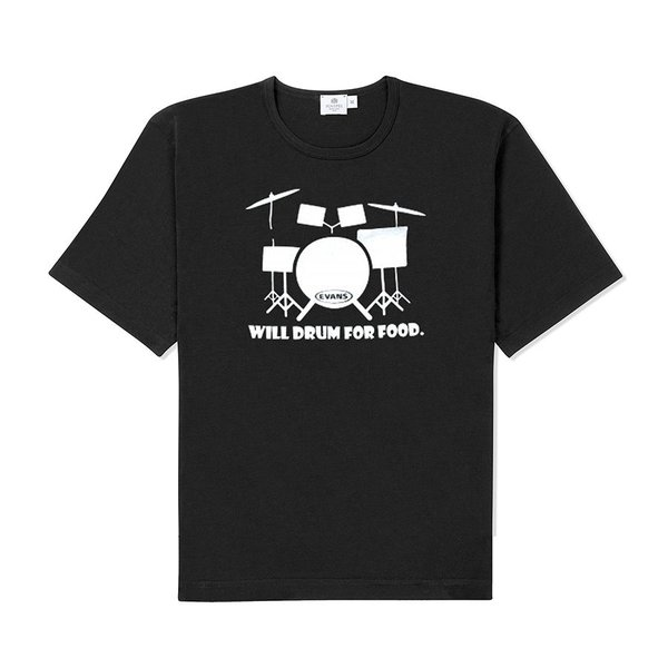 Evans Evans Will Drum For Food T-Shirt