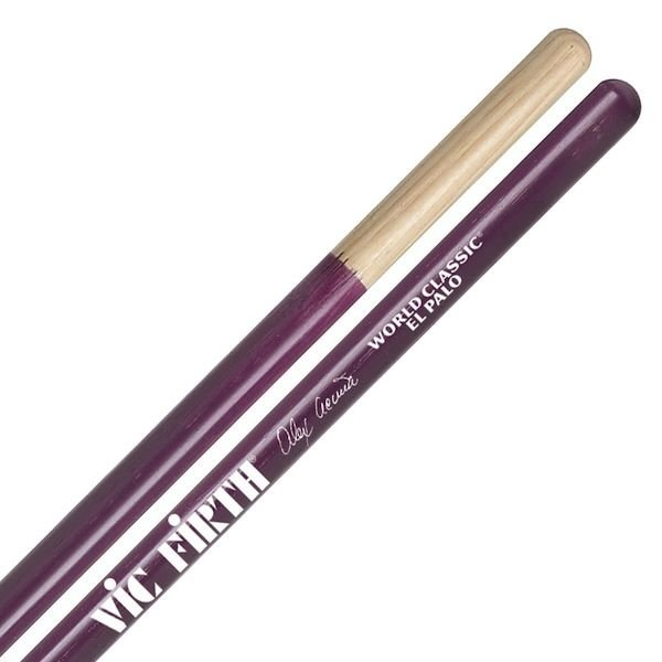 Vic Firth Vic Firth World Classic - Alex Acuna El Palo (Purple) Timbale Drumsticks