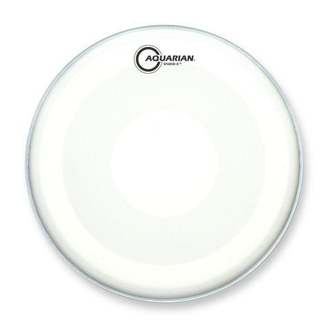 "Aquarian Studio-X Series Texture Coated 8"" Drumhead with Power Dot Underside"