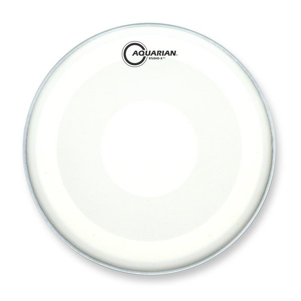 "Aquarian Aquarian Studio-X Series Texture Coated 12"" Drumhead with Power Dot Underside"