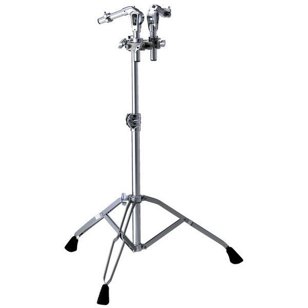 Pearl Pearl Double Tom Stand with TH-1000S Uni-Lock Tom Holders (2)