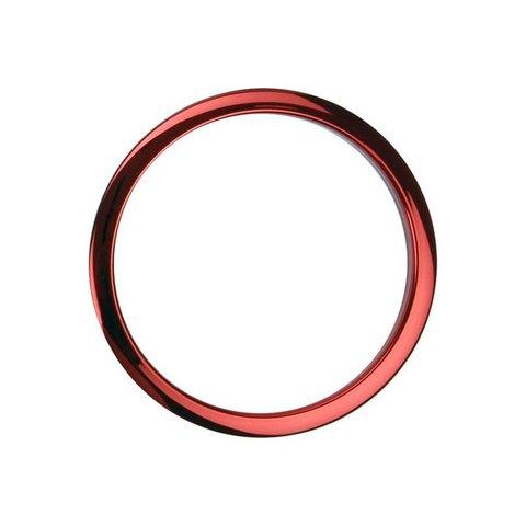 Bass Drum O's 4 Red Chrome Drum O's