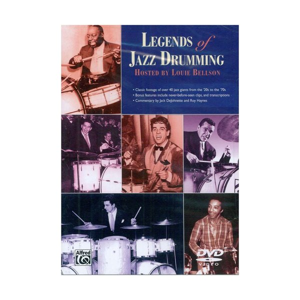 Alfred Publishing Legends of Jazz Drumming DVD