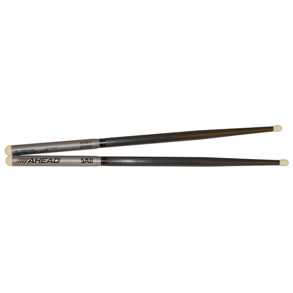 Ahead Ahead Hybrid-Studio 5B-Handle 5A-Shaft Drumsticks