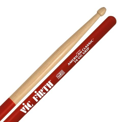 Vic Firth American Classic - 7A Drumsticks with Vic Grip