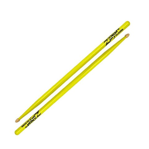 Zildjian 5A Acorn Neon Yellow Wood Tip Drumsticks