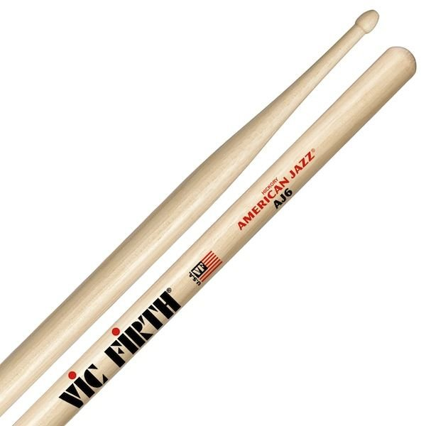 Vic Firth Vic Firth American Jazz - 6 Drumsticks
