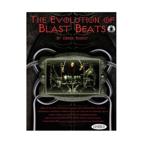 The Evolution Of Blast Beats by Derek Roddy; Book & CD