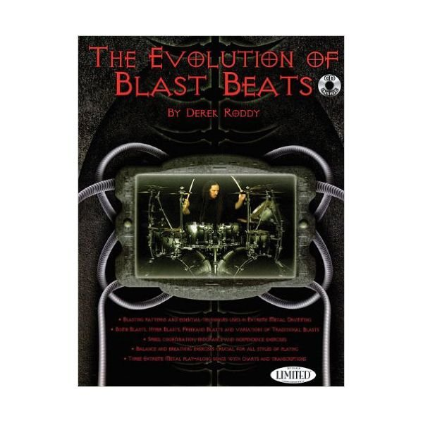 Hal Leonard The Evolution Of Blast Beats by Derek Roddy; Book & CD