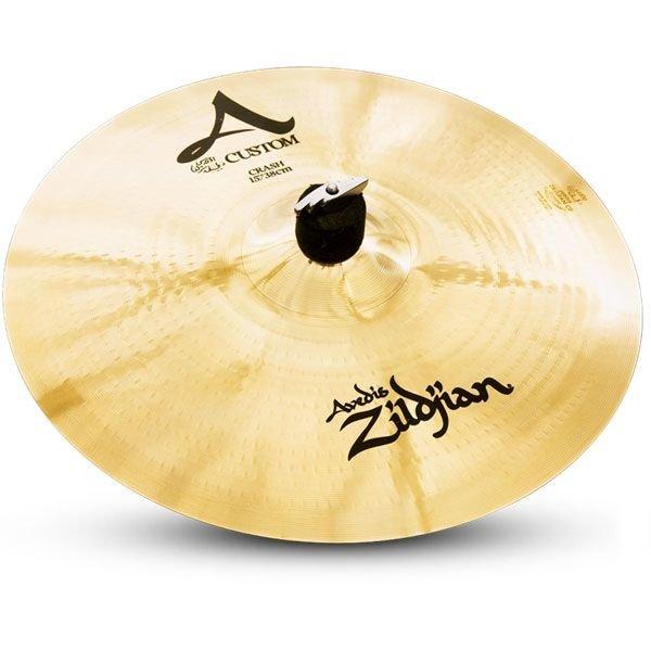 "Zildjian A Custom 18"" Crash Cymbal Brilliant"