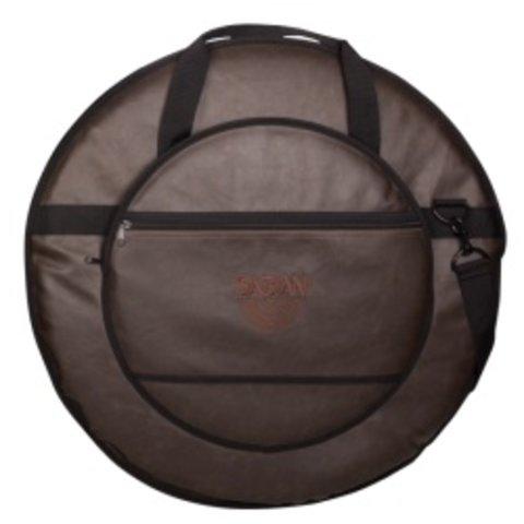 """Sabian Fast 22"""" Vintage Cymbal Bag; Vintage Brown"""