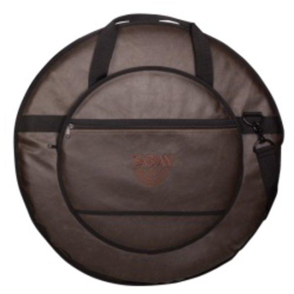 """Sabian Sabian Fast 22"""" Vintage Cymbal Bag; Vintage Brown"""