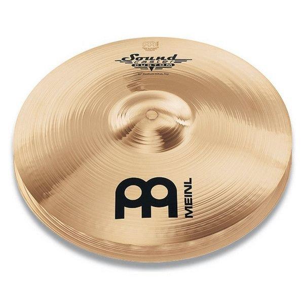 "Meinl Meinl Soundcaster Custom 13"" Medium Hi Hat Cymbals"