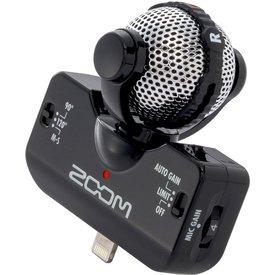 Zoom Zoom iQ5 Lightning Stereo Microphone - Black