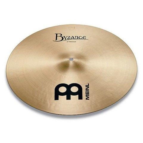 "Meinl Byzance Traditional 18"" Thin Crash Cymbal"