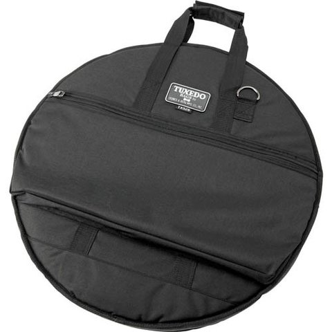 "Humes and Berg 26"" Tuxedo Padded Black Cymbal Bag"