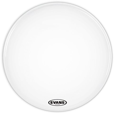 "Evans EQ3 Resonant Smooth White 22"" No Port Bass Drumhead"