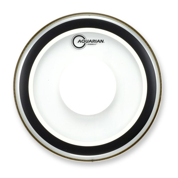 "Aquarian Aquarian Studio-X Series 16"" Drumhead with Power Dot"