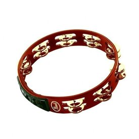 Pearl Pearl 10 Headless Wood Tambourine Stainless Brass Jingles