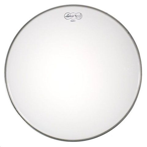 "Ludwig Weather Master Clear Heavy 18"" Bass Drumhead"