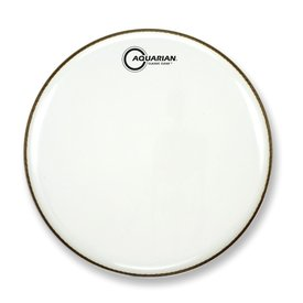"Aquarian Aquarian Classic Clear Series 18"" Bass Drumhead - White"