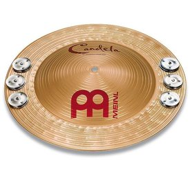 "Meinl Meinl Candela 14"" Percussion Jingle Bell"