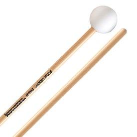 Innovative Percussion Innovative Percussion Dark Xylophone / Glockenspiel Mallets - White - Rattan