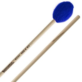 Innovative Percussion Innovative Percussion Hard Concerto Marimba Mallets - Electric Blue Bamboo Yarn - Birch