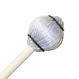 "Mike Balter Mike Balter 25B Pro Vibe Series 14 1/2"" Jazz Silver Cord Marimba/Vibe Mallets with Birch Handles"