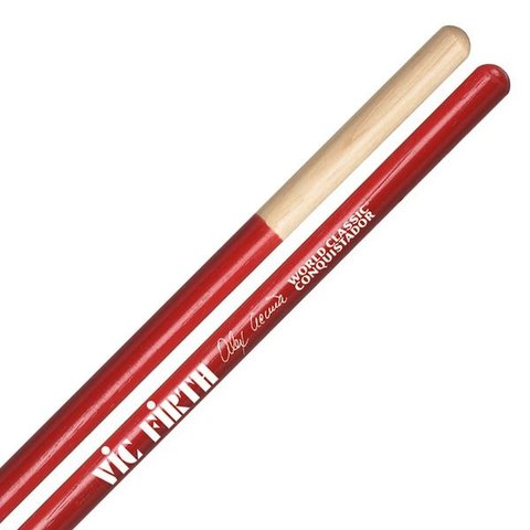 Vic Firth World Classic - Alex Acuna Conquistador (Red) Timbale Drumsticks