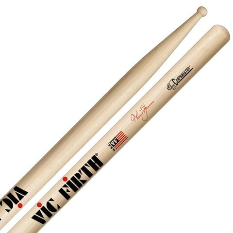 Vic Firth Corpsmaster - Signature Snare - Thom Hannum Piccolo Tip Drumsticks