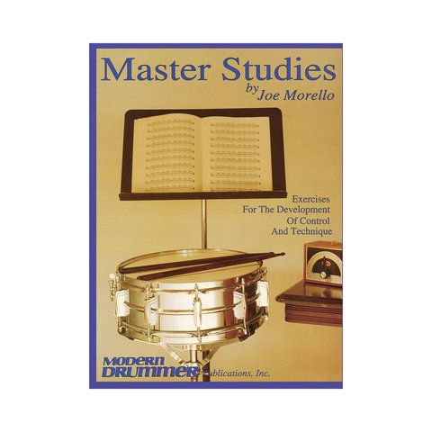 Master Studies Vol. 1 by Joe Morello; Book