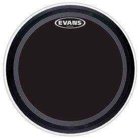 "Evans Evans EMAD Onyx 22"" Bass Drumhead"