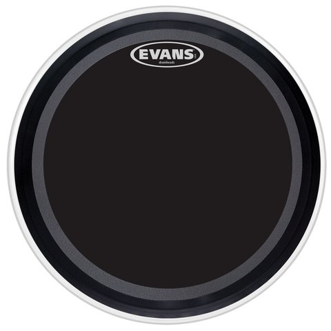 "Evans EMAD Onyx 22"" Bass Drumhead"