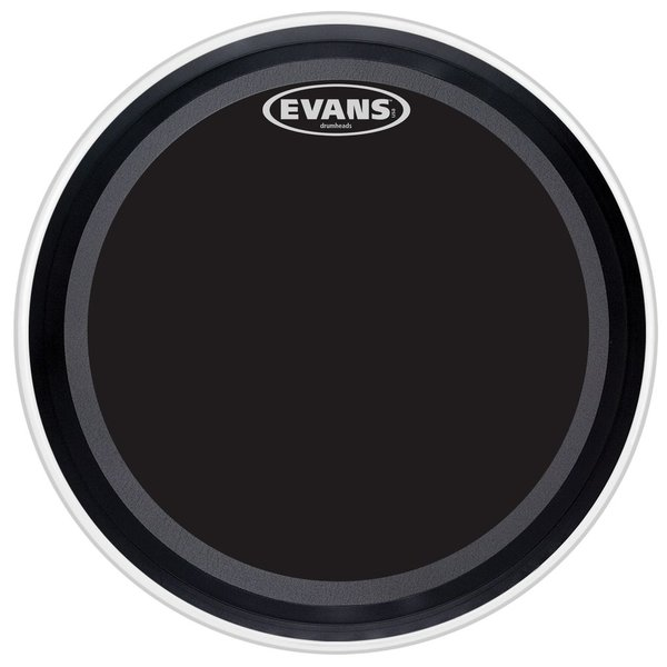 "Evans Evans EMAD Onyx 22"" Bass Drumhead"