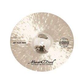 "Murat Diril Murat Diril Luminous Series 20"" Flat Ride Cymbal w/ Rivets"