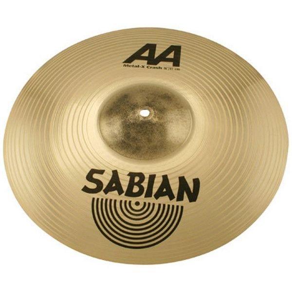 """Sabian Sabian AA 20"""" Metal X Crash Cymbal Brilliant"""