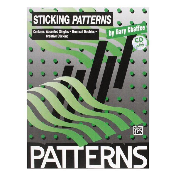Alfred Publishing Patterns: Sticking Patterns by Gary Chaffee; Book & CD