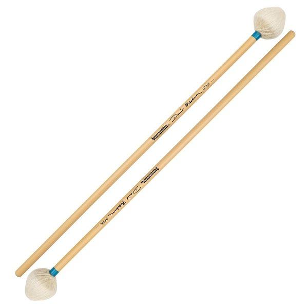 Innovative Percussion Innovative Percussion David Friedman /  Light Vibraphone Mallets - Ivory Yarn/Light Blue Tape - Rattan