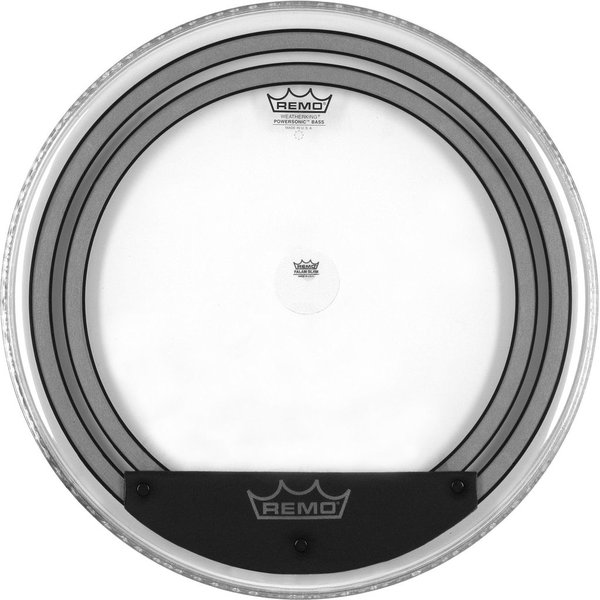 "Remo Remo Clear Powersonic 22"" Diameter Bass Drumhead"