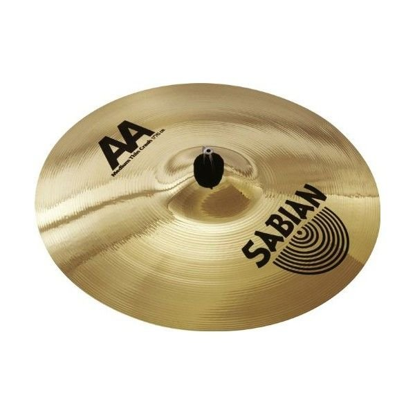 "Sabian Sabian AA 18"" Medium-Thin Crash Cymbal"
