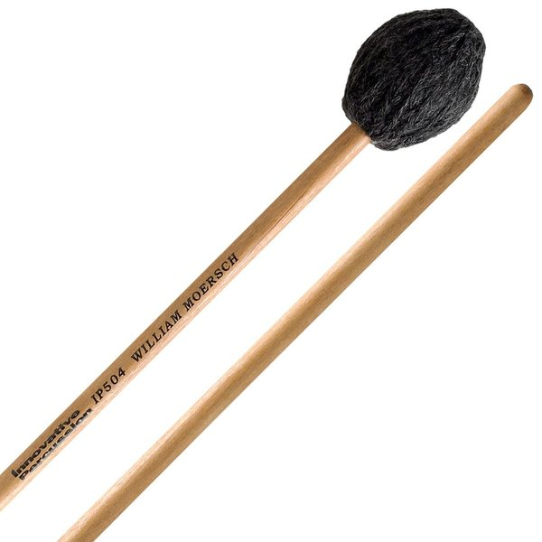 Innovative Percussion Innovative Percussion Hard Marimba Mallets - Charcoal Yarn - Birch