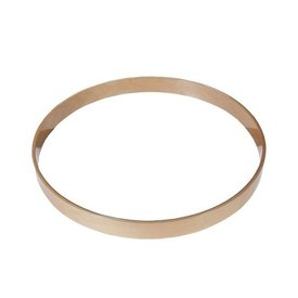 Gibraltar Gibraltar 22 Maple Bass Drum Hoop Natural
