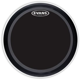 """Evans Evans EMAD Onyx 24"""" Batter Bass Drumhead"""