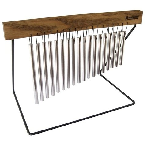 TreeWorks Medium Chime with Durable 1/4 Hand-Bent Wire Table Stand