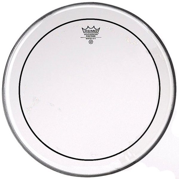 "Remo Remo Clear Pinstripe 18"" Diameter Bass Drumhead"