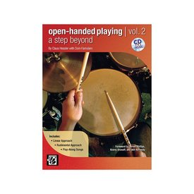 Alfred Publishing Open-Handed Playing Vol. 2 by Claus Hessler and Dom Famularo; Book & CD
