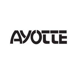 Ayotte Ayotte Black Bass Drum Logo