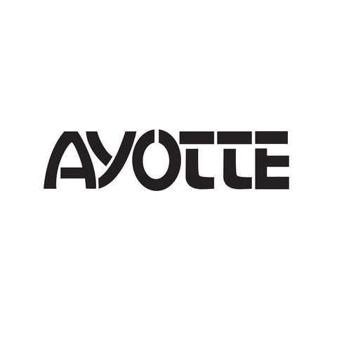 Ayotte Black Bass Drum Logo